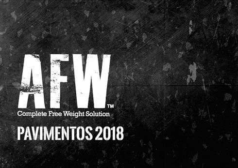 Catálogo AFW Pavimentos 2018